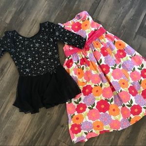Bundle of girl's dresses size 7/8